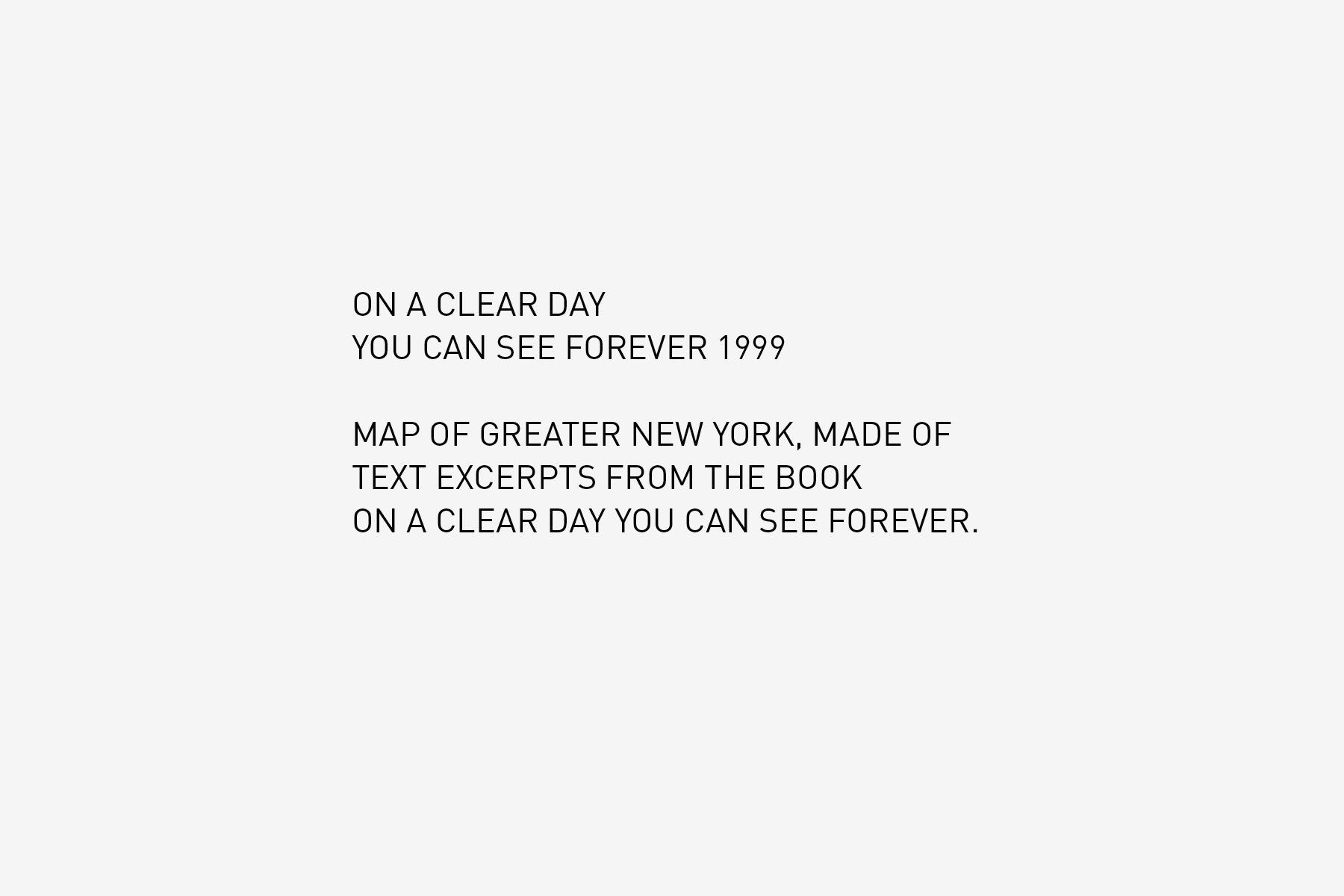JAN ROTHUIZEN-On a clear day you can see forever