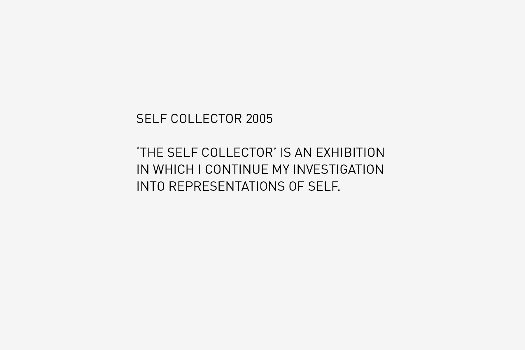 JAN ROTHUIZEN-Self Collector