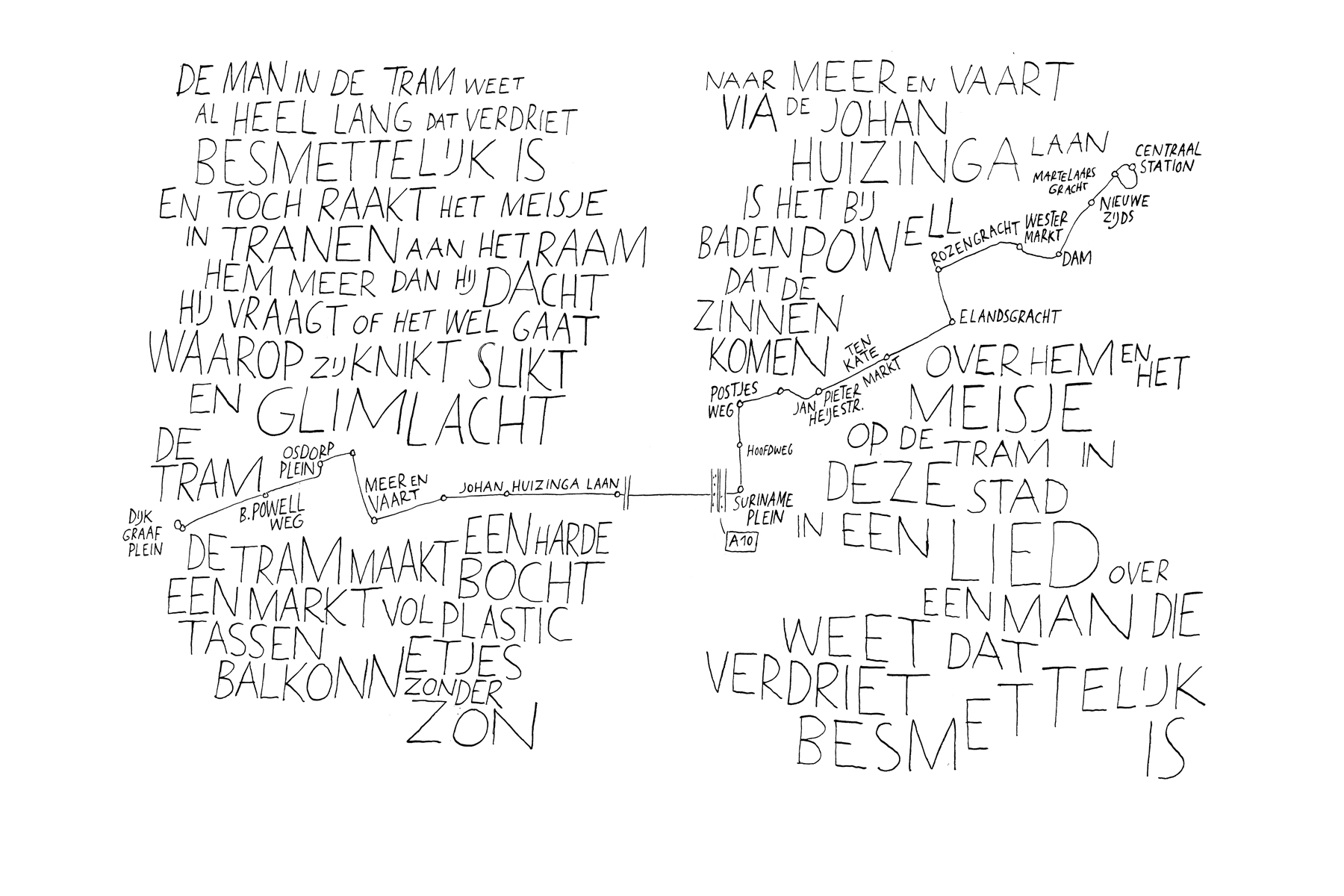 JAN ROTHUIZEN-Text drawings
