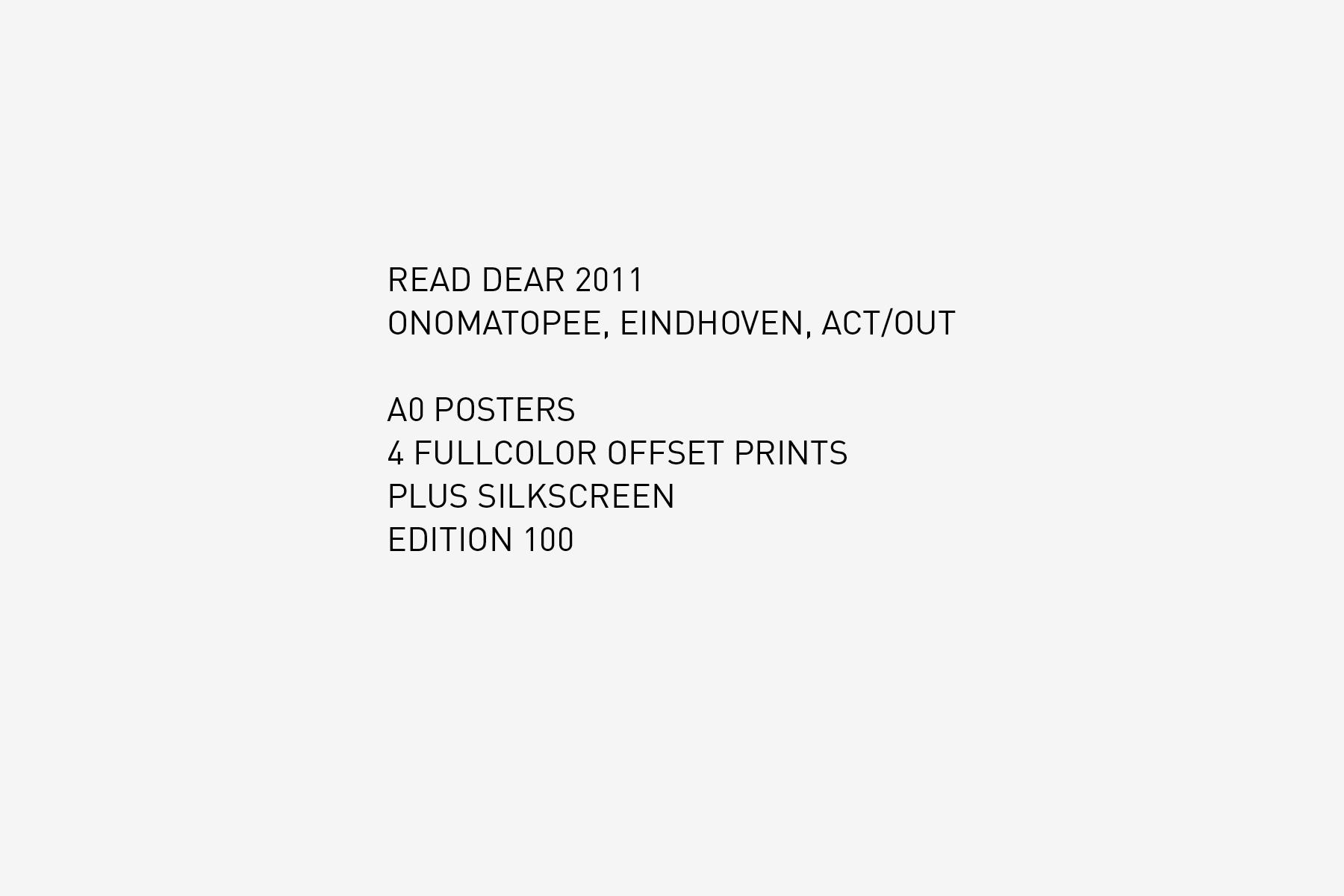 JAN ROTHUIZEN-Read dear