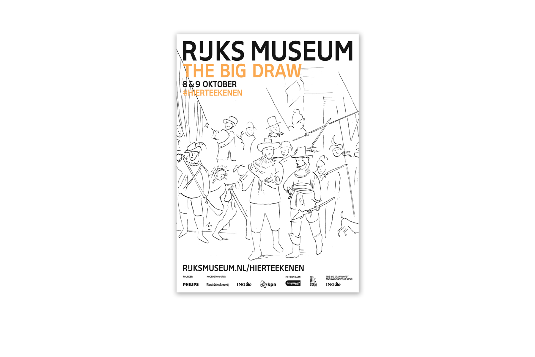 JAN ROTHUIZEN-Drawings for Rijksmuseum