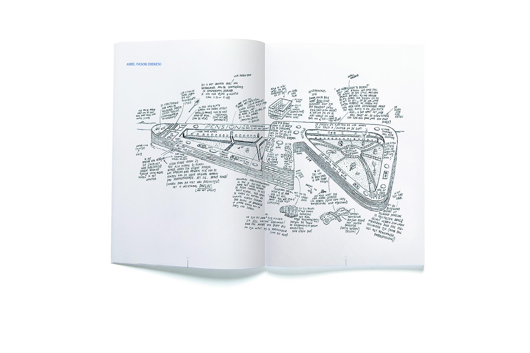 JAN ROTHUIZEN-De Zachte Atlas van Amsterdam