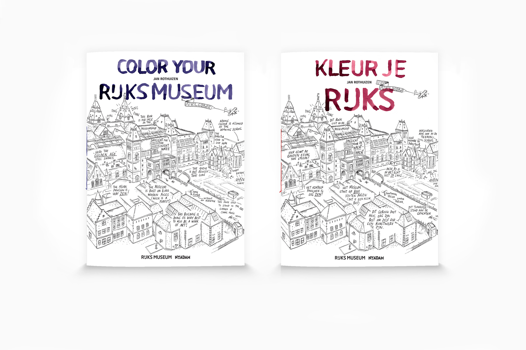 JAN ROTHUIZEN-Color your Rijksmuseum