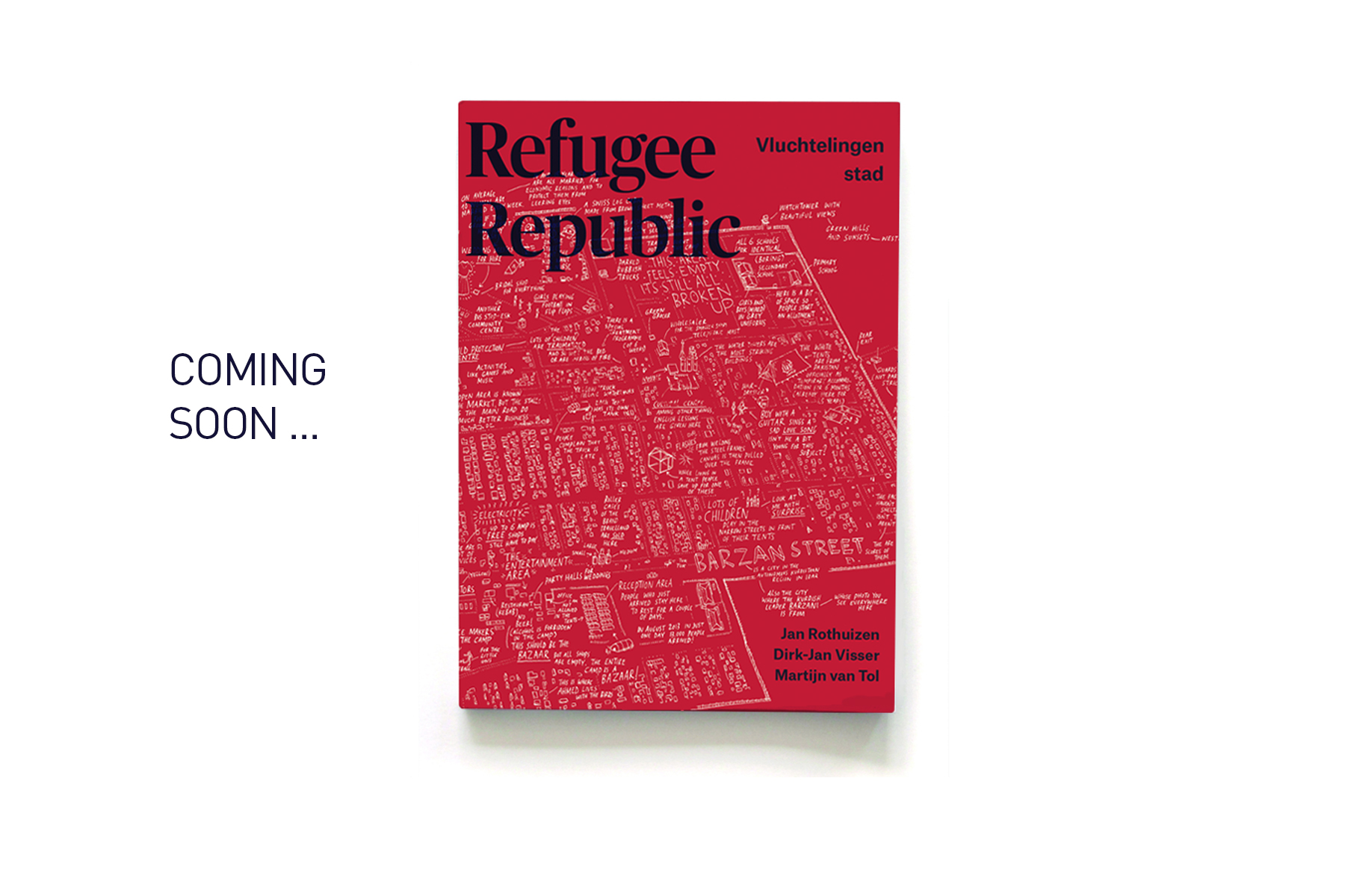 JAN ROTHUIZEN-Refugee Republic Book