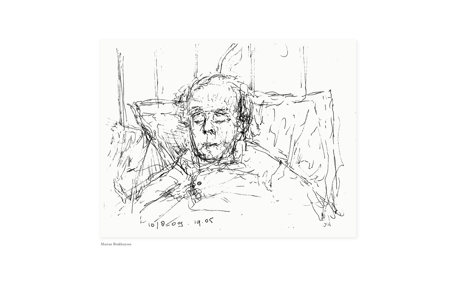 JAN ROTHUIZEN-Drawing by others