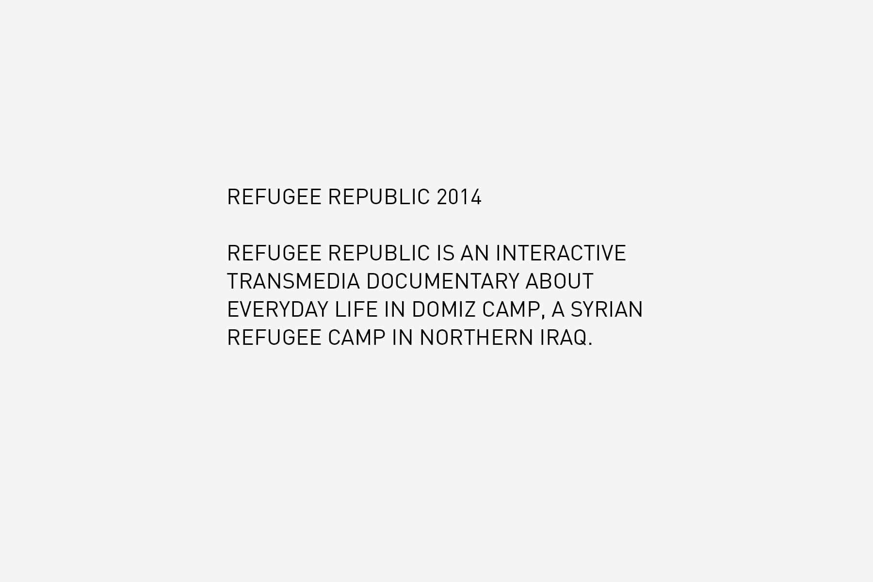 JAN ROTHUIZEN-Refugee Republic