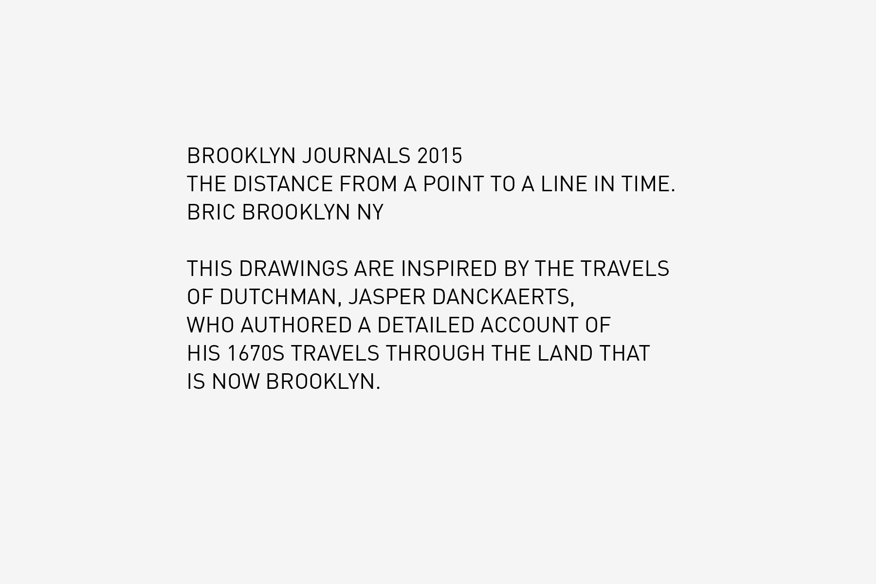 JAN ROTHUIZEN-Brooklyn Journals
