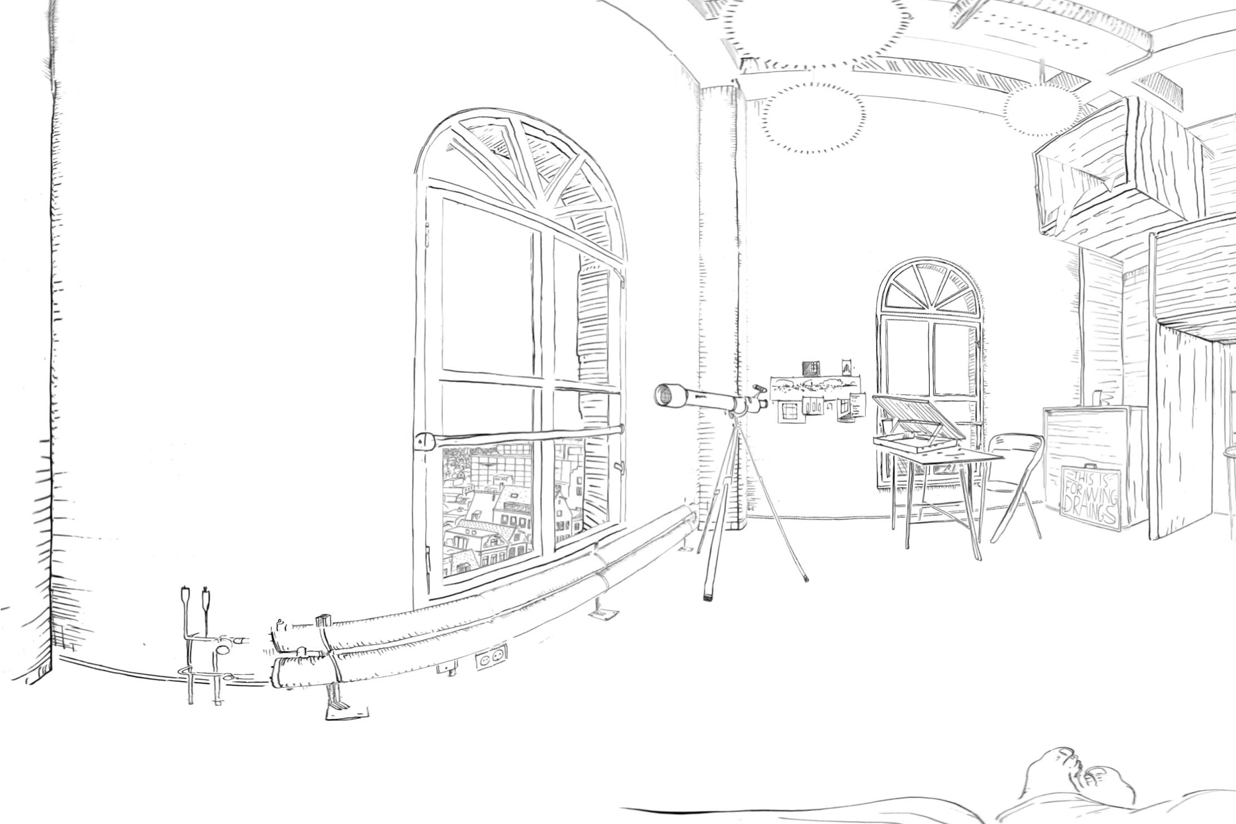 JAN ROTHUIZEN-Drawing Room