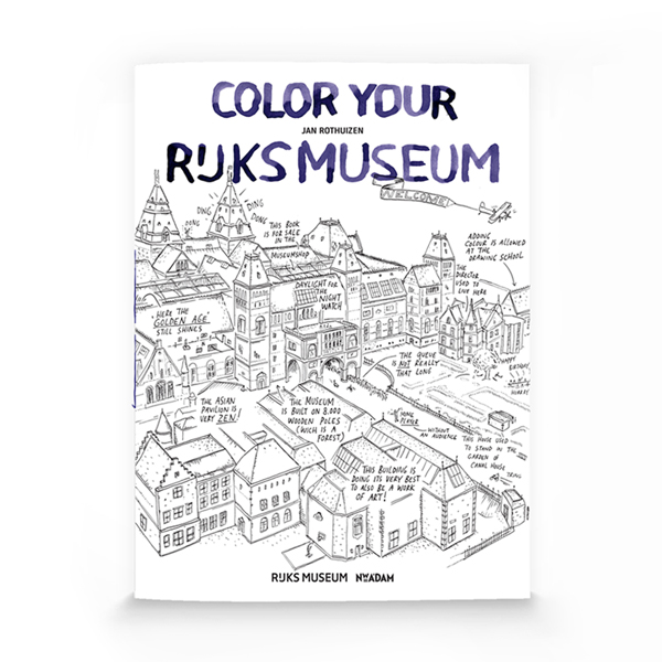 Color your Rijksmuseum - Jan Rothuizen