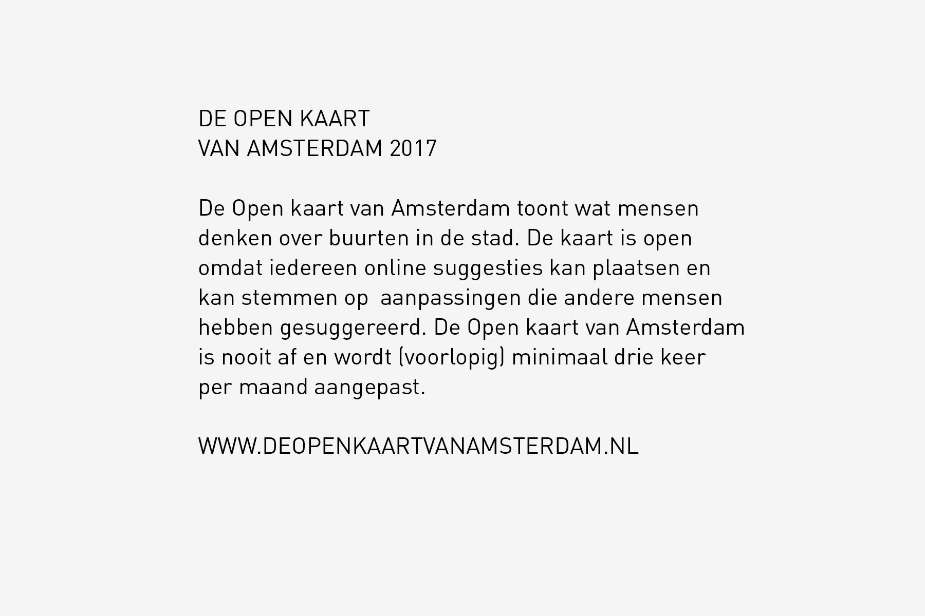 JAN ROTHUIZEN-De Open kaart van Amsterdam