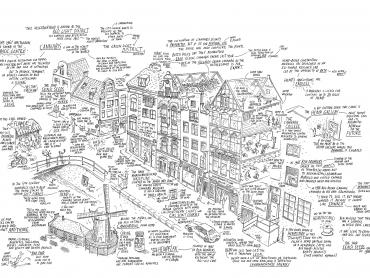 map amsterdam hemp museum