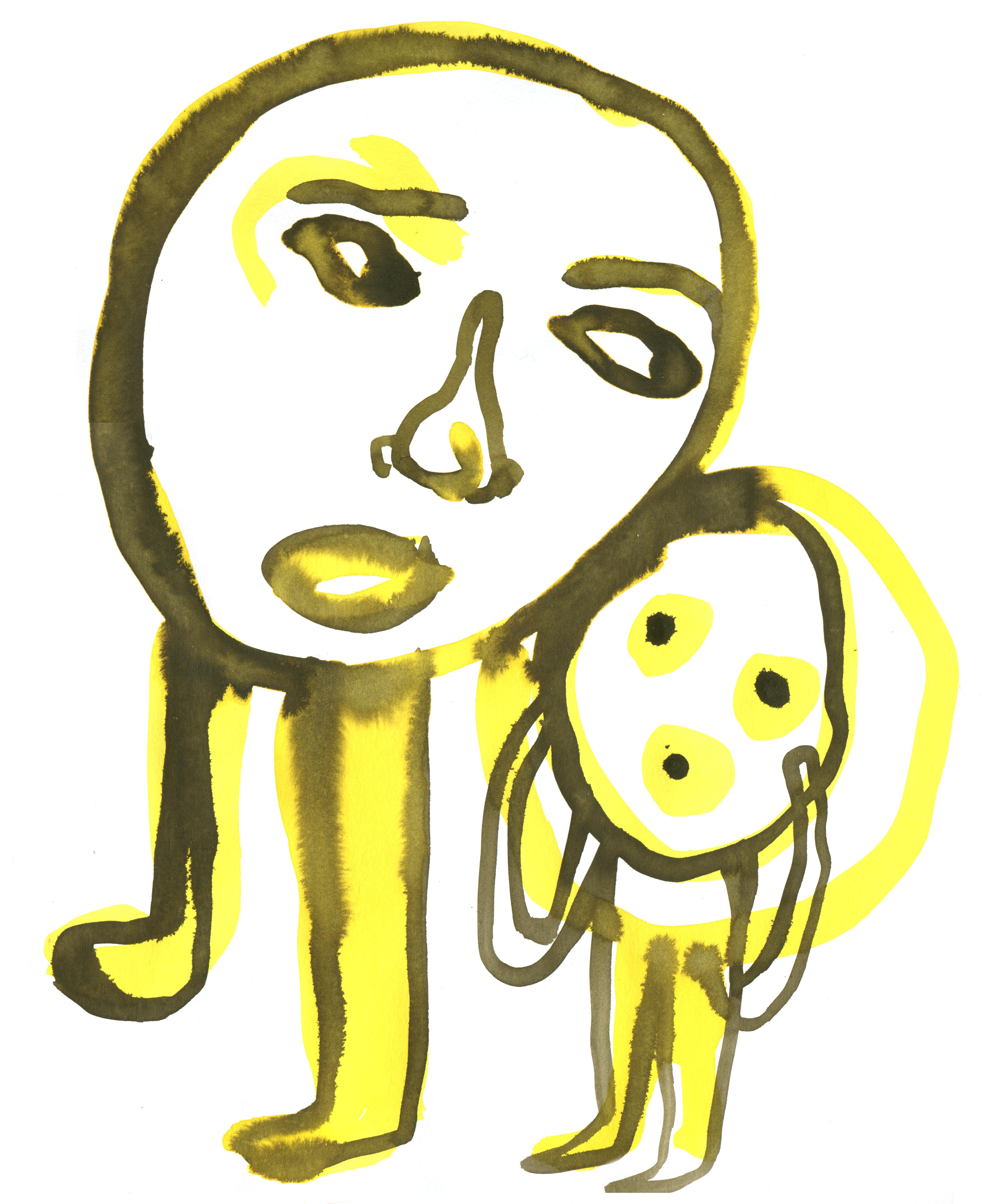 JAN ROTHUIZEN-Watercolour Drawings